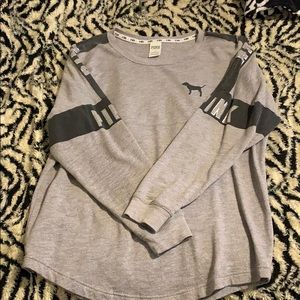 Grey thick long sleeve